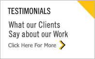 Testimonials - What our Clients Say about our Work
